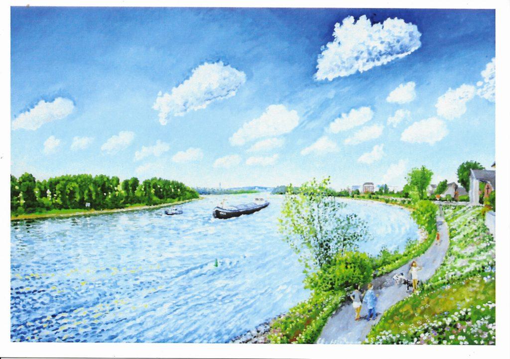 Weiß am Rhein